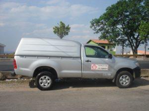 Capota Básica – Laterais Fechadas para Toyota Hilux Capota para Toyota Hilux