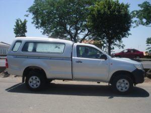 Capota Básica – Vidros Fixos para Toyota Hilux Toyota