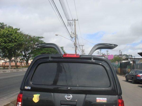 Capota Asa de Gaivota para Nissan Frontier Capota para Nissan Frontier