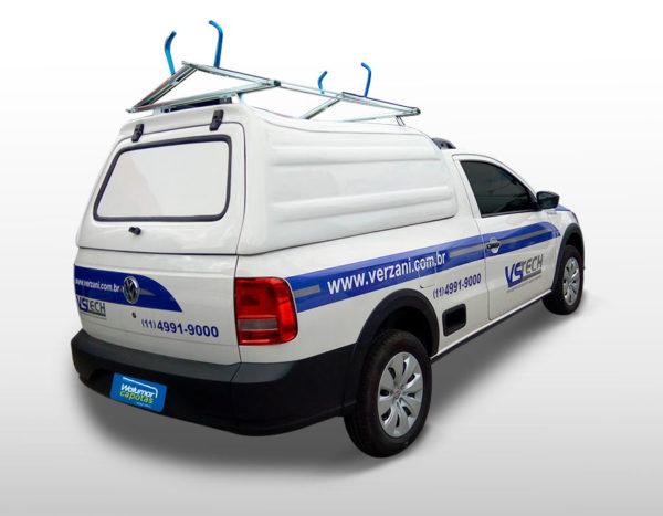 Capota Básica com Suporte para Volkswagen Saveiro Capota para Volkswagen Saveiro