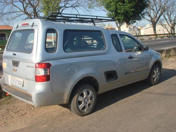 Vidros Fixos – Capota de Fibra Chevrolet Montana Capota para Chevrolet Montana