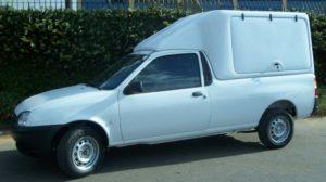 Capota Básica – Portas Laterais para Ford Courier Ford