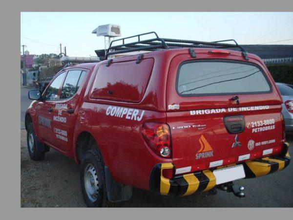 Capota Básica – Bombeiros para Mitsubishi L200 Capota para Mitsubishi L200