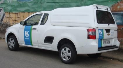 Laterais Fechadas – Capota de Fibra Chevrolet Montana Capota para Chevrolet Montana