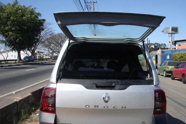 Vidros Fixos Capota de Fibra para Renault Oroch Capota para Renault Oroch