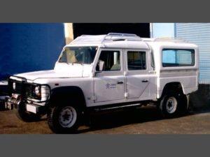 Capota Básica para Land Rover Defender Capota para Land Rover Defender