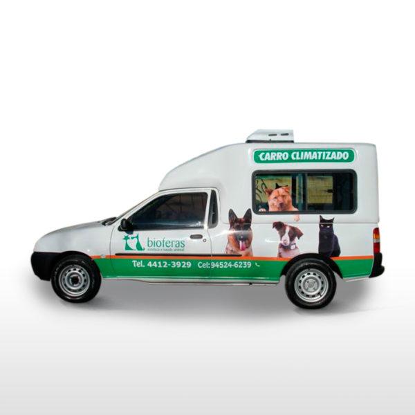 Capota Furgão Folha Dupla – Pet Shop para Ford Courier Capota para Ford Courier