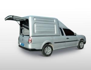 Furgão G4 para Volkswagen Saveiro Volkswagen