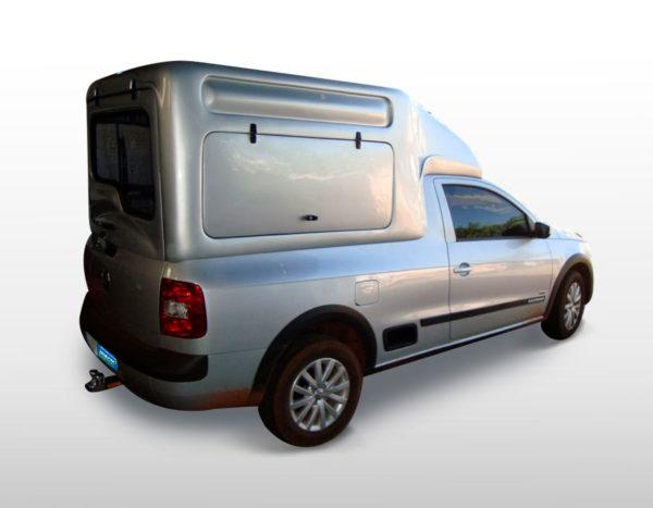 Furgão G5 para Volkswagen Saveiro Capotas, Furgões e Tampões para Volkswagen Saveiro