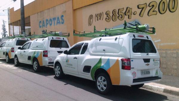 Portas Laterais – Capota de Fibra Chevrolet Montana Capota para Chevrolet Montana