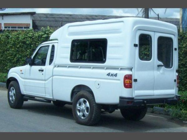 Capota Básica para Mahindra Rise Pick Up Capotas, Furgões e Tampões para Mahindra Pick Up