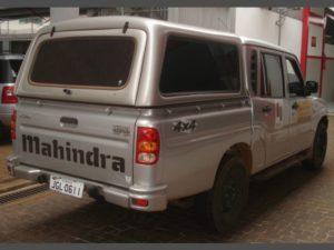 Capota Básica para MMahindra Rise Pick Up Capota para Mahindra Rise Pick Up