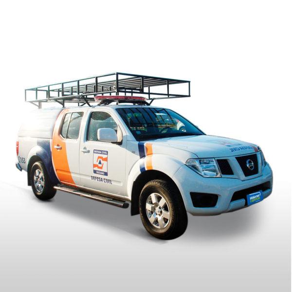 Capota Básica – Defesa Civil para Nissan Frontier Capota para Nissan Frontier