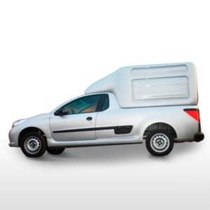 Capota Furgão Folha Dupla para Peugeot Hoggar Capotas, Furgões e Tampões para Peugeot Hoggar