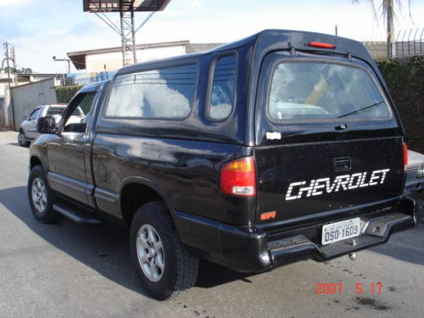 Vidros Fixos – Capota de Fibra Chevrolet S10 Capota para Chevrolet S10