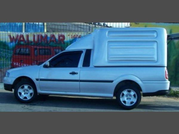 Furgão G4 para Volkswagen Saveiro Capotas, Furgões e Tampões para Volkswagen Saveiro