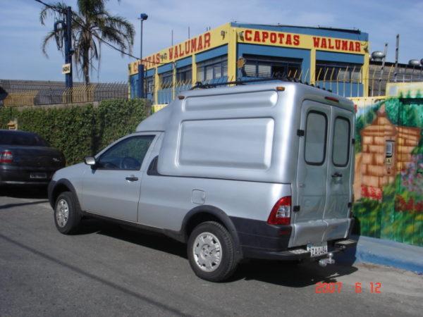 Folha Dupla – Capota de Fibra Fiat Strada Capotas para Picapes da Fiat