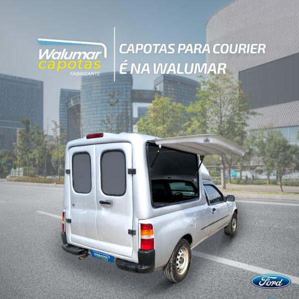Capota Básica – Portas Laterais para Ford Courier Capota para Ford Courier