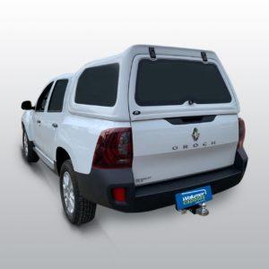 Vidros Fixos Capota de Fibra para Renault Oroch Renault