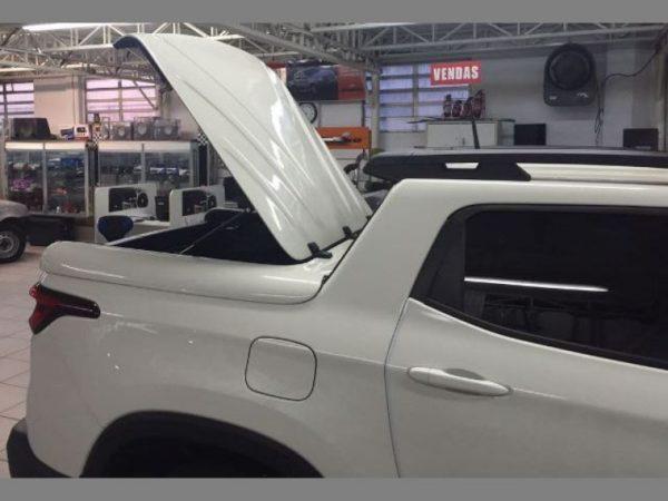 Tampão Marítimo de Fibra Fiat Toro Capotas para Picapes da Fiat