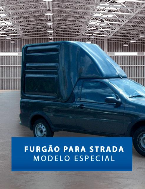 Furgão Especial - Capota de Fibra Fiat Strada
