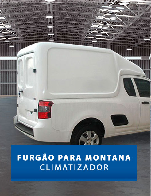 Furgão Climatizador - Capotas de Fibra Chevrolet Montana