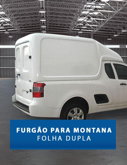 Folha Dupla - Capota de Fibra Chevrolet Montana