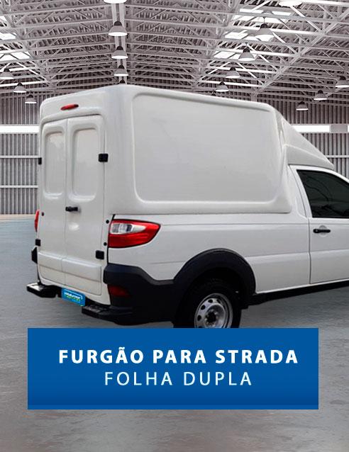 Folha Dupla - Capota de Fibra Fiat Strada
