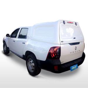 Laterais Fechadas Capota de Fibra para Renault Oroch Renault