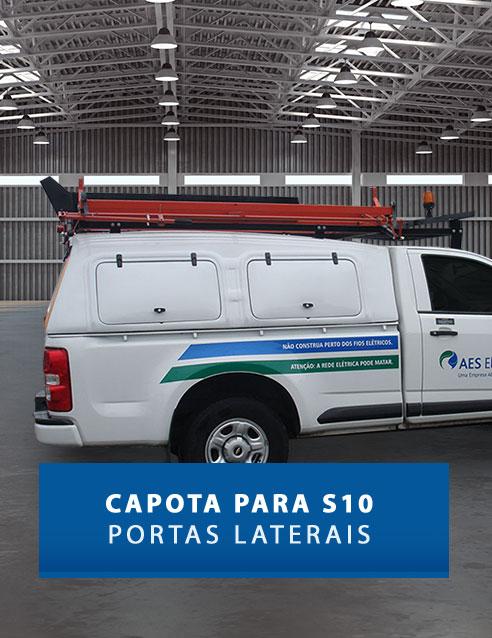 Portas Laterais - Capota de Fibra Chevrolet S10