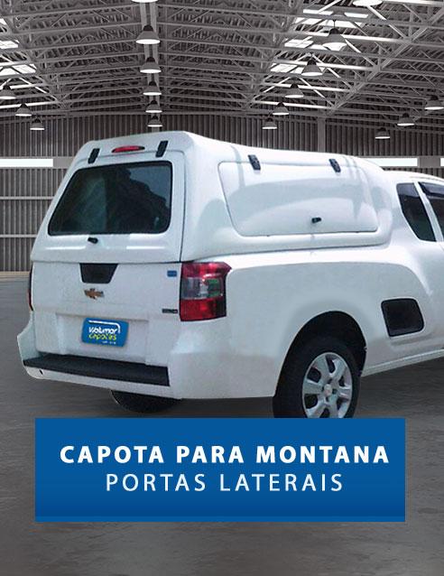 Portas Laterais - Capota de Fibra Chevrolet Montana