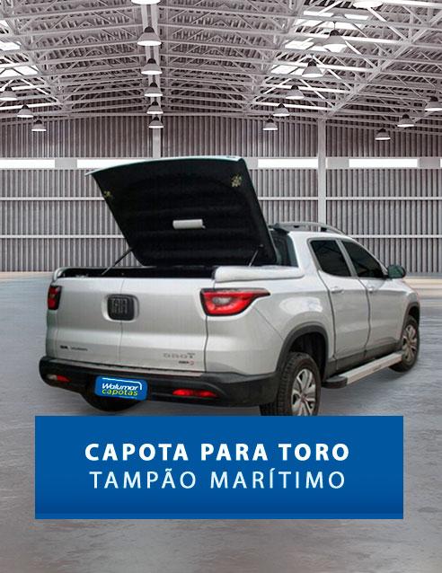 Tampão Marítimo de Fibra Fiat Toro