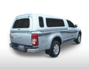 Vidros Fixos – Capota de Fibra Chevrolet S10 Chevrolet