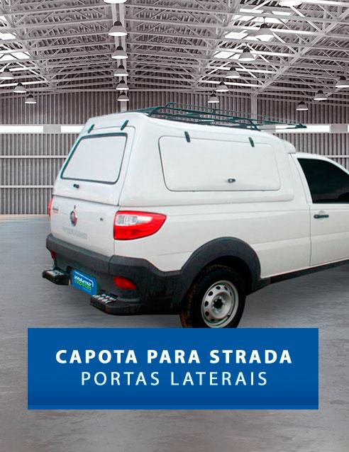 Portas Laterais - Capota de Fibra Fiat Strada