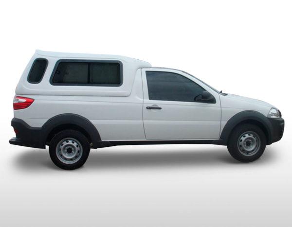 Janelas de Correr – Capota de Fibra Fiat Strada Cabine Simples
