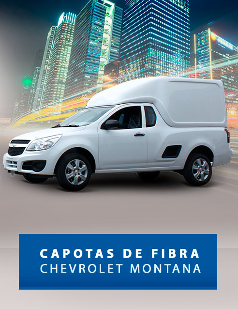 Capotas de Fibra para Picapes da Chevrolet