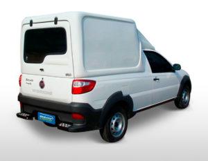 Meia Tampa – Capota de Fibra Fiat Strada Capotas para Picapes da Fiat