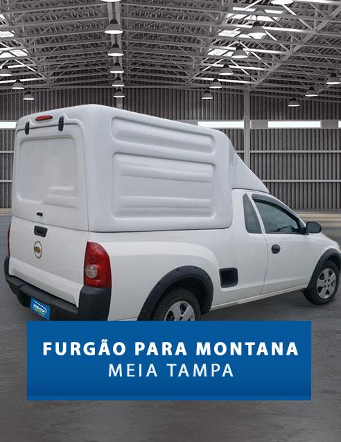 Meia Tampa - Capota de Fibra Chevrolet Montana