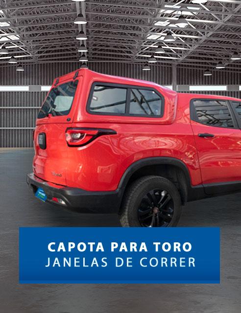Janelas de Correr - Capota de Fibra Fiat Toro