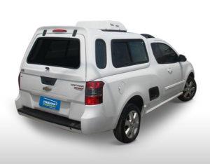 Janelas de Correr – Capota de Fibra Chevrolet Montana Capota para Chevrolet Montana