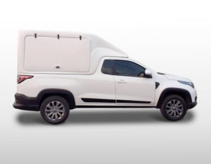 Furgão Portas Laterais – Capota de Fibra Fiat Strada 2020/21 Capotas para Picapes da Fiat