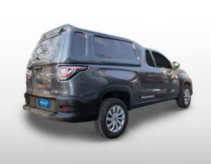 Lateral Fechada – Capota de Fibra Fiat Strada 2020/21 Cabine Simples