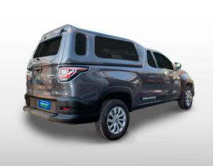 Vidros Fixos – Capota de Fibra Fiat Strada 2020/21 Cabine Simples