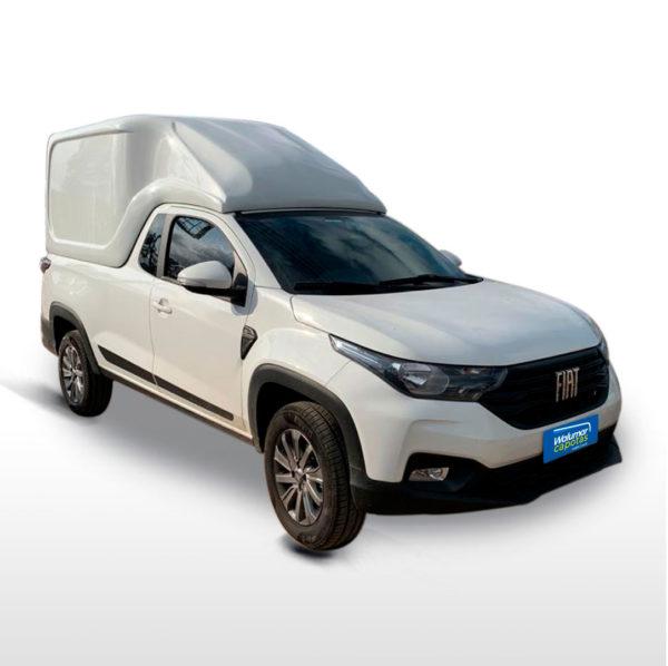 Furgão MTC – Capota de Fibra Fiat Strada 2020/21 Cabine Estendida