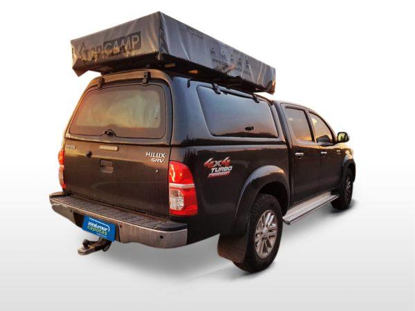 Capota Básica – Portas Laterais para Toyota Hilux Capota para Toyota Hilux