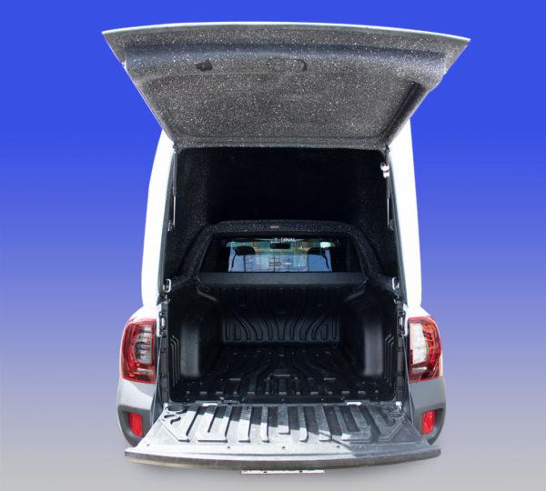 Furgão Meia Tampa de Fibra para Renault Oroch Capotas, Furgões e Tampões para Renault Oroch
