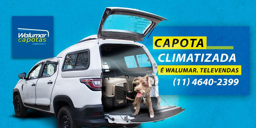 Walumar desenvolve nova Capota refrigerada para a picape Strada 2021