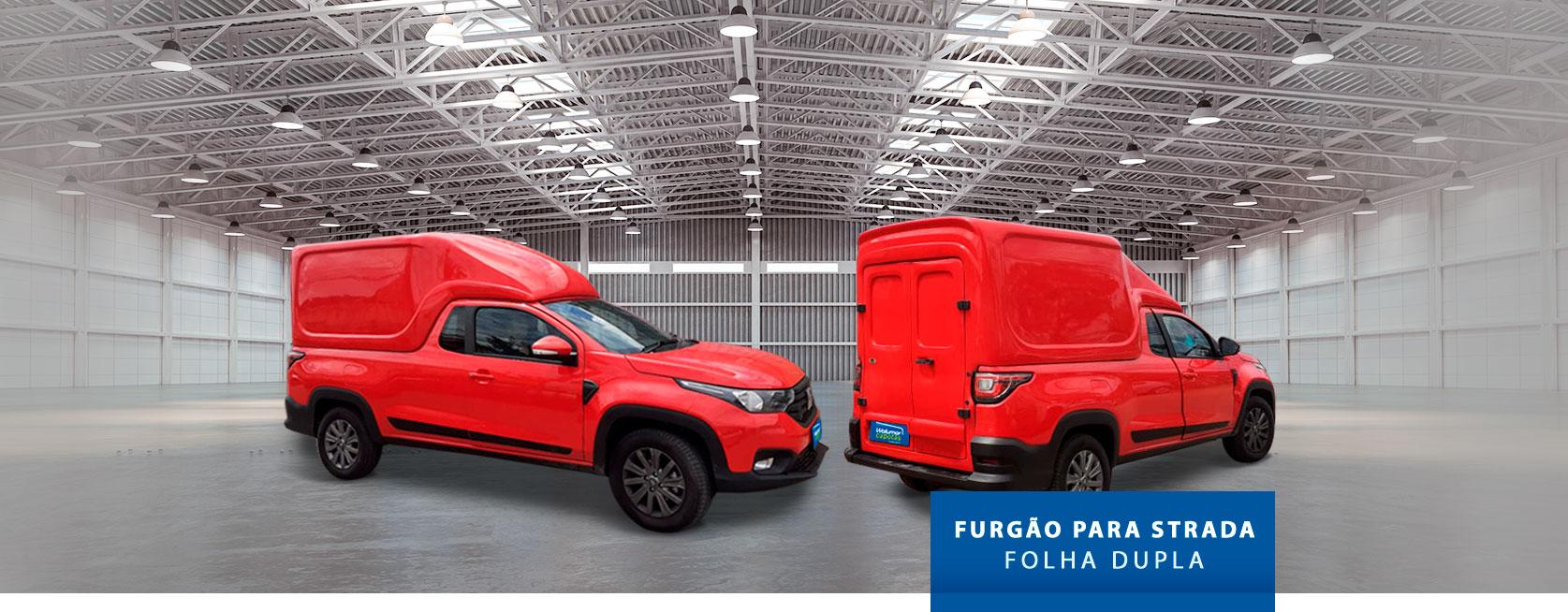 Folha Dupla - Capota de Fibra Fiat Strada 2020/21