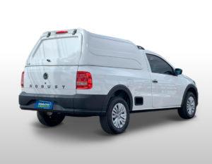 Laterais Fechadas – Capota de Fibra Volkswagen Saveiro Robust Capota para Volkswagen Saveiro