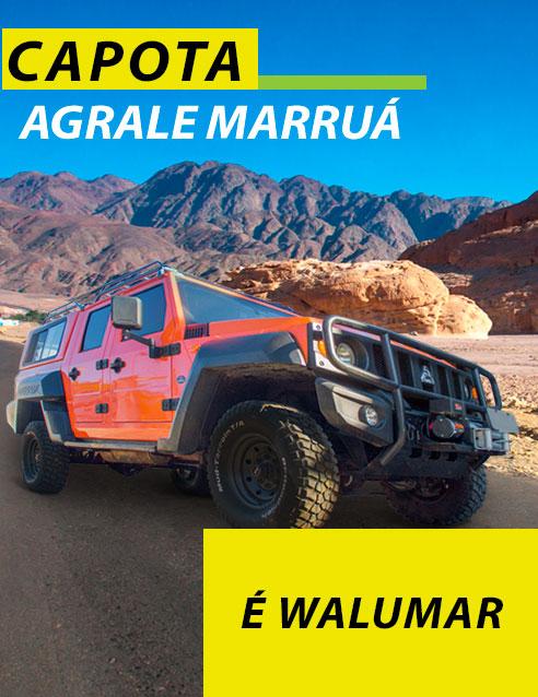 CAPOTA DE FIBRA PARA AGRALE MARRUÁ SOLICITE ORÇAMENTO